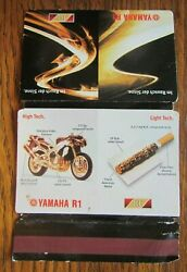 Yamaha Motorcycle Matchbook Matchcover From Germany -e15