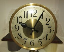 Antique Gustav Becker P 112 Tall Case Weights Driven Clock Movement With Dial