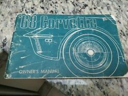 1968 Original 2nd Edition Corvette Owners Manual With Full News Card