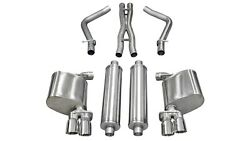 Corsa Performance 14525 Sport Cat-back Exhaust System Fits 11-14 Charger
