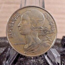 Circulated 1963 20 Centimes French Coin 722171.....free Shipping