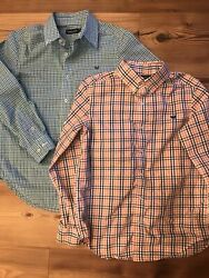 Southern Marsh Youth Boys Long Sleeve Button Up Dress Shirts Set Of 2 Yl 10/12