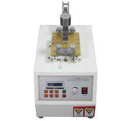 220v Leather Color Fastness Testing Machine Leather Softness Rubbing Color Meter