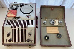 Webster Chicago Model 180-1 Wire Recorder Electronic Memory Rma 375 Vintage Rare