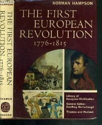 First European Revolution 1776-1815 Library Of European By Norman Hampson Mint