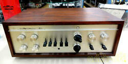 Luxman Cl35 Ii Control Amplifier Power Supply Voltage 100v Ships Safely From Jp