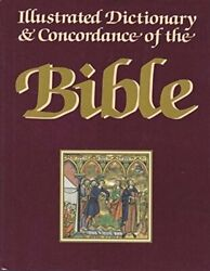 Illustrated Dictionary And Concordance Of Bible By Geoffrey Wigoder And Shalom M.