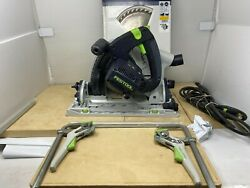 Festool Ts 75 Eq Plus Track Saw With Blades And Accessories
