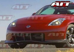 For Nissan 350z 2003-2008 Nismo-3 Style Front Bumper By Ait Racing Check Wait