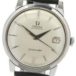 Omega Automatic Men Seamaster Cal.562 Date Antique 166.011 Watch Tk4318