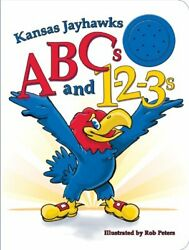 Kansas Jayhawks Abcs And 1-2-3s By Ascend Books Mint Condition