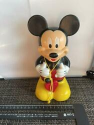 Mickey Mouse Bank With Recording Function Figurehead Ornament Toy Interior