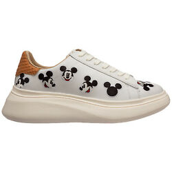 Moa Master Of Arts Sneakers Women Double Gallery Md600 Leather Logo Detail