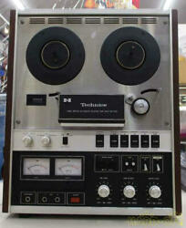 Technics Rs-715u Reel-to-reel Tape Recorders Power Supply Voltage 100v