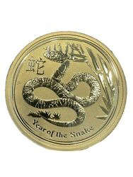 Year Of The Snake 2013 Gold 1 Unze Oz China