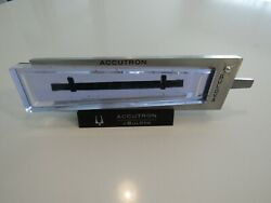 Vintage Accutron 214 Aluminum Tuning Fork Jeweler's Case Store Display And Boxes