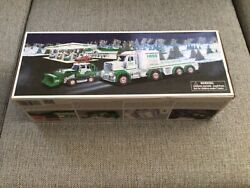 2013 Hess Gas Toy Truck And Tractor