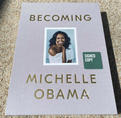 Michelle Obama Signed Limited Edition Book Becoming Sold Out