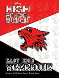 Disney High School Musical East High Yearbook By Emma Harrison - Hardcover Mint
