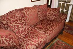 Victorian Reproduction Sofa Couch And Love Seat Local Pick-up Only Nice