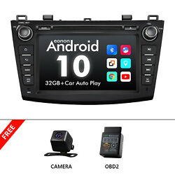 Cam+obd+us Ga9463a Android 10 8 Ips Car Dvd Player Gps For Mazda 3 2010-2013 Bl