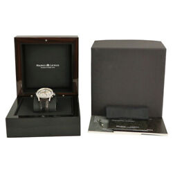 Maurice Lacroix Masterpiece World Timer Mp6008-ss001-110 Auto Watch W/box Papers