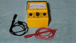 Simpson 260 Multimeter Series 8 Xpi With Leads