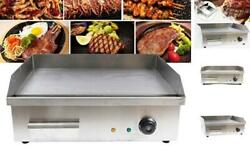 Teppanyaki, Electric Griddle Cooktop Countertop Commercial Flat Top Grill