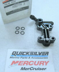 A12 Mercury Quicksilver 48077a 3 Valve Assembly Oem New Factory Boat Parts