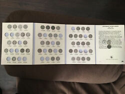 Lot Of 49 Jefferson Nickels Us 5c Coins Including 9 Silver War Nickels And Book