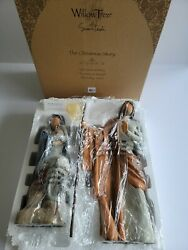Willow Tree The Christmas Story Sculpted Hand-painted Nativity Figures