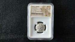 Attica Athens Tetradrachm Coin 440-404 Bc Ngc Xf F/s From Jpn W/tracking 8960n