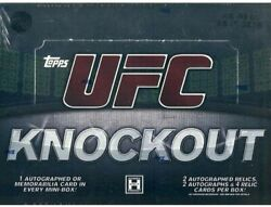 2010 Ufc Knockout Complete Set- Base Mixed With Parallels. /288 /188 /88 /8 1/1
