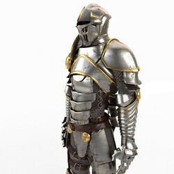 Medieval Knight Wearable Suit Armor Crusader Combat Full Body Costume Armor