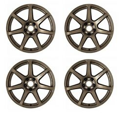 Work Emotion T7r 18x8.5 +45 +38 +30 5x114.3 Ahg From Japan [order Products]