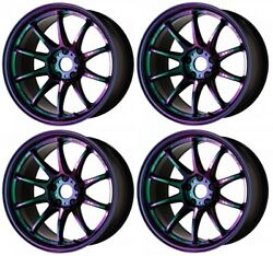 Work Emotion Zr10 18x10.5 +22 +12 5x114.3 Ark From Japan [order Products]