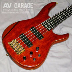 Moon Mbc-5 Limited Used Electric Bass