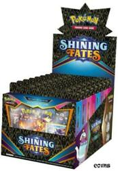 Trading Cards Pokemon Shining Fates Mad Party Pin Collection 6-box Case