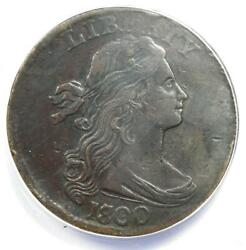 1800/1798 Draped Bust Large Cent 1c Coin S-191 - Anacs Vf30 Details Damage