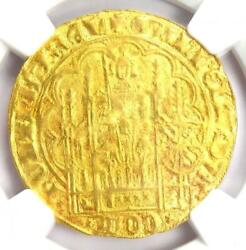 1404 Netherlands William Vi Chaise Dand039or 1cdand039or Coin - Certified Ngc Au Details