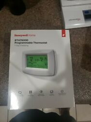 Honeywell Home Rth7600d Touchscreen Smart 7 Day Programmable Thermostat White