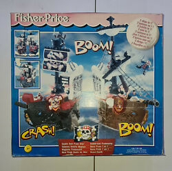 Mattel 2000 Fisher Price Double Duel Pirate Ship New Unopened See Condition Box