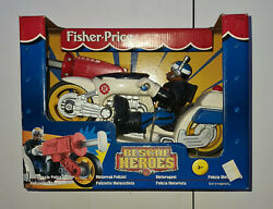 Mattel 1998 Fisher Price Rescue Heroes 77089 New Unopened