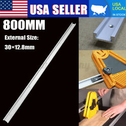 T-slot T-tracks Miter Track Jig Slot 800mm For Woodworker Router Table Band