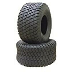 Two 23x10.50-12 23x1050-12 Mower Mt Turf Tires 6 Ply Rate Heavy Duty