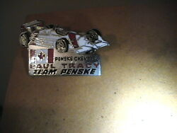 Paul Tracy Team Penske Collector Pin Tack Back Chevy 93