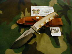 Randall Knife Knives 11-4 1/2, Engraved And Carved Inlay Eagle A3881