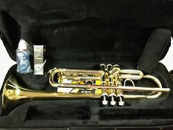 Brand New Bach Tr711 Prelude Trumpet W/backpack Case And More Make An Offer