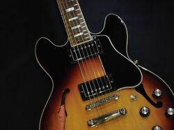 Gibson Memphis Es-339 Sunset Burst Semi-hollow Body W/h/c Ships Safely From Jp