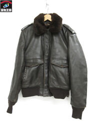 Schott A-2 With Liner Leather Jacket 184sm 38 Brw